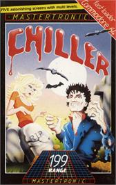 Box cover for Chiller on the Commodore 64.