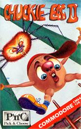 Box cover for Chuckie Egg II on the Commodore 64.