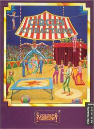 Box cover for Circus Attractions on the Commodore 64.