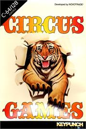 Box cover for Circus Games on the Commodore 64.