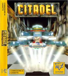 Box cover for Citadel on the Commodore 64.