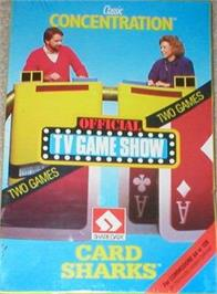 Box cover for Classic Concentration on the Commodore 64.