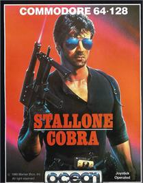 Box cover for Cobra on the Commodore 64.