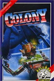 Box cover for Colony on the Commodore 64.