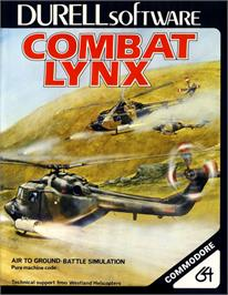 Box cover for Combat Lynx on the Commodore 64.