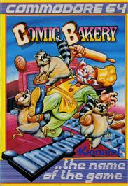 Box cover for Comic Bakery on the Commodore 64.