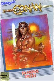 Box cover for Conan: Hall of Volta on the Commodore 64.