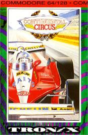 Box cover for Continental Circus on the Commodore 64.