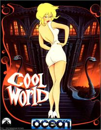 Box cover for Cool World on the Commodore 64.
