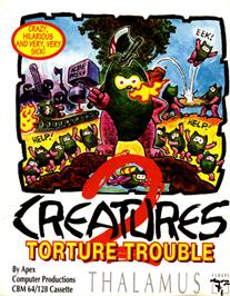 Box cover for Creatures 2: Torture Trouble on the Commodore 64.
