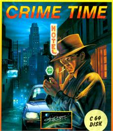 Box cover for Crime Time on the Commodore 64.