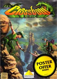 Box cover for Crossbow on the Commodore 64.