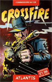 Box cover for Crossfire on the Commodore 64.