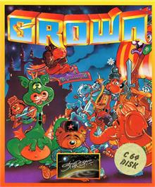 Box cover for Crown on the Commodore 64.