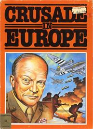 Box cover for Crusade in Europe on the Commodore 64.