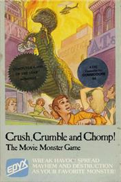 Box cover for Crush, Crumble and Chomp! on the Commodore 64.