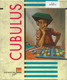 Box cover for Cubulus on the Commodore 64.