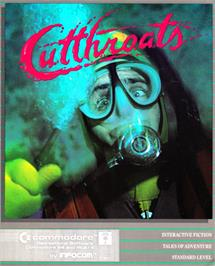 Box cover for Cutthroats on the Commodore 64.