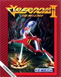 Box cover for Cybernoid 2: The Revenge on the Commodore 64.