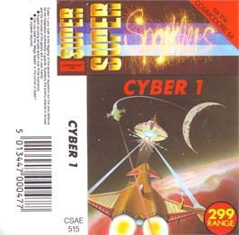 Box cover for Cyborg on the Commodore 64.
