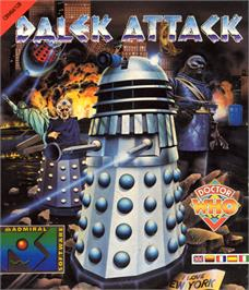 Box cover for Dalek Attack on the Commodore 64.