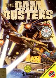 Box cover for Dam Busters on the Commodore 64.