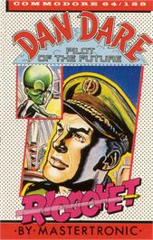Box cover for Dan Dare: Pilot of the Future on the Commodore 64.