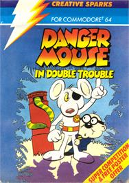Box cover for Danger Mouse in Double Trouble on the Commodore 64.