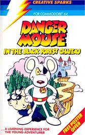 Box cover for Danger Mouse in the Black Forest Chateau on the Commodore 64.