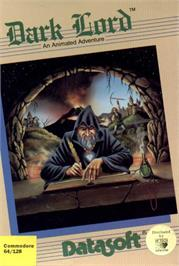 Box cover for Dark Lord on the Commodore 64.
