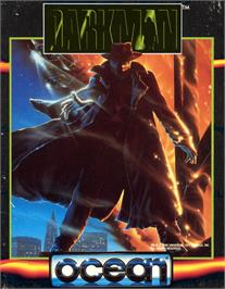Box cover for Darkman on the Commodore 64.