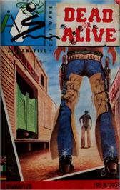 Box cover for Dead or Alive on the Commodore 64.