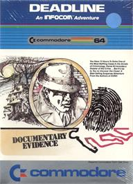 Box cover for Deadline on the Commodore 64.