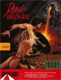 Box cover for Death Bringer on the Commodore 64.