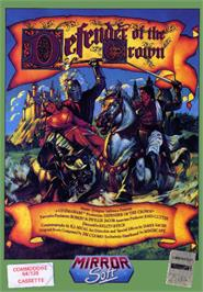 Box cover for Defender of the Crown on the Commodore 64.