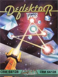 Box cover for Deflektor on the Commodore 64.