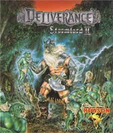 Box cover for Deliverance: Stormlord II on the Commodore 64.