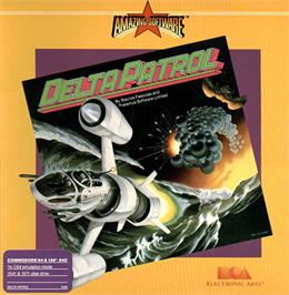 Box cover for Delta Patrol on the Commodore 64.