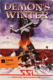 Box cover for Demon's Winter on the Commodore 64.