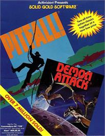 Box cover for Demon Attack on the Commodore 64.