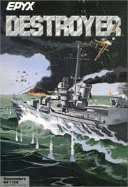 Box cover for Destroyer on the Commodore 64.