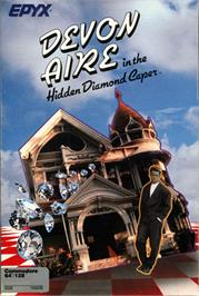 Box cover for Devon Aire in the Hidden Diamond Caper on the Commodore 64.