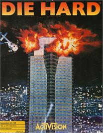 Box cover for Die Hard on the Commodore 64.