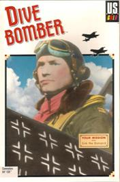 Box cover for Dive Bomber on the Commodore 64.
