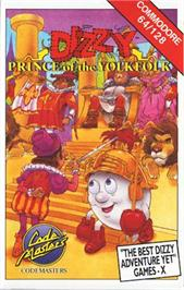 Box cover for Dizzy: Prince of the Yolkfolk on the Commodore 64.