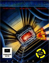 Box cover for Dominator on the Commodore 64.