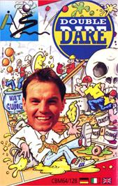 Box cover for Double Dare on the Commodore 64.