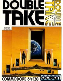 Box cover for Double Take on the Commodore 64.