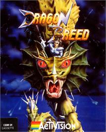 Box cover for Dragon Breed on the Commodore 64.