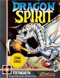 Box cover for Dragon Spirit: The New Legend on the Commodore 64.